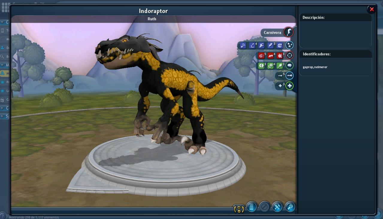 (20) Indoraptor [♫] BplOnVK