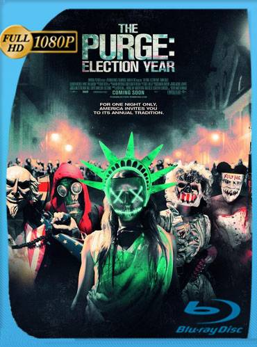 The purge. Election year 2016 [1080p BRrip] [Latino-Inglés]