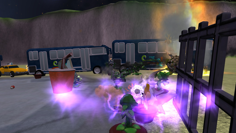 (3) Plantas vs. Zombies -modelos base. C8r9K45