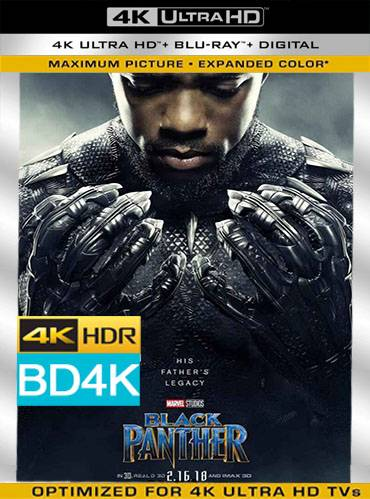 Black panther 2018 [BD4K] [Latino]