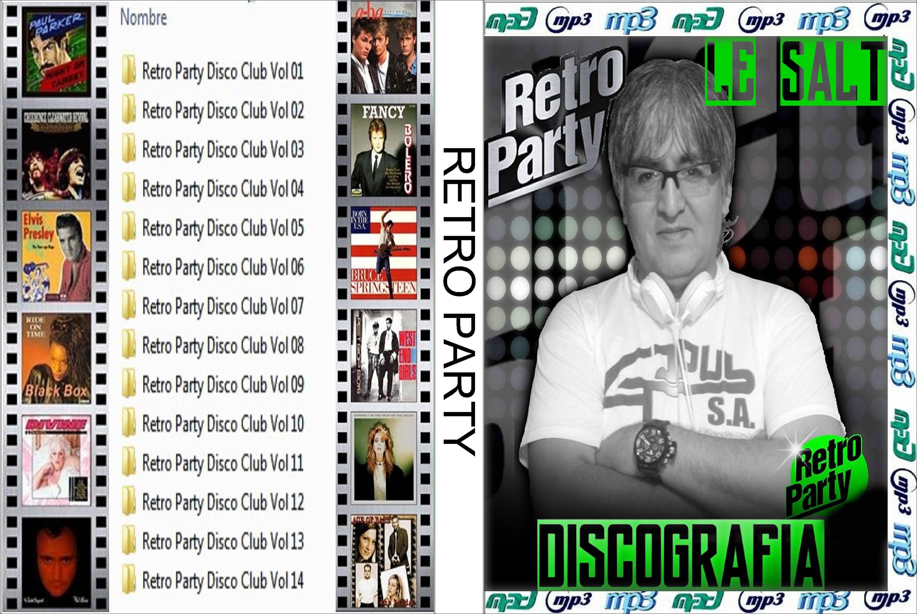 RETRO PARTY COLECCION MP3