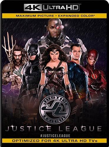 Justice League 2017 [BD4K] [Latino]
