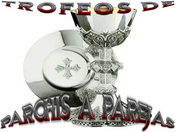 TROFEOS PARCHIS PAREJAS