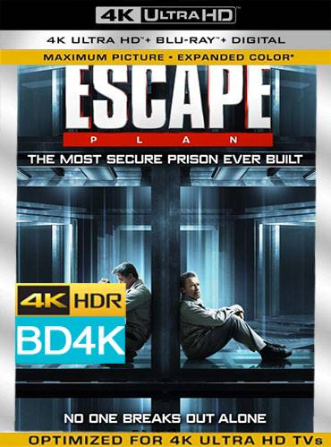 Escape plan 2013 [BD4K] [Latino]