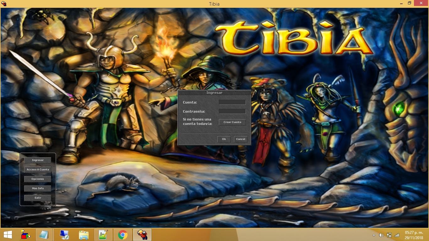 Tibia Client 8.60 Totalmente en Español JsiRAmw