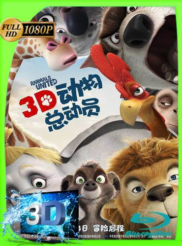 Animals united 2010 [3D] [1080p BRrip] [Latino-Inglés]