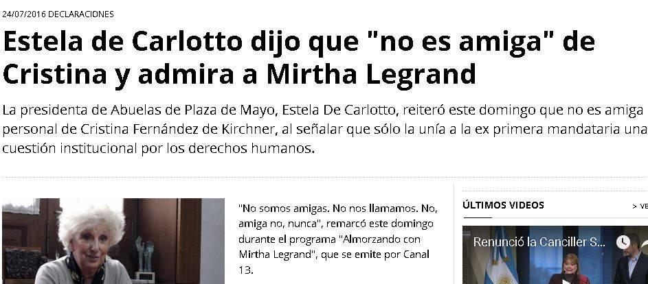 Si pudimos con Videla, vamos a poder con Macri