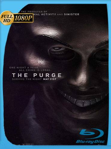 The purge 2013 [1080p BRrip] [Latino-Inglés]