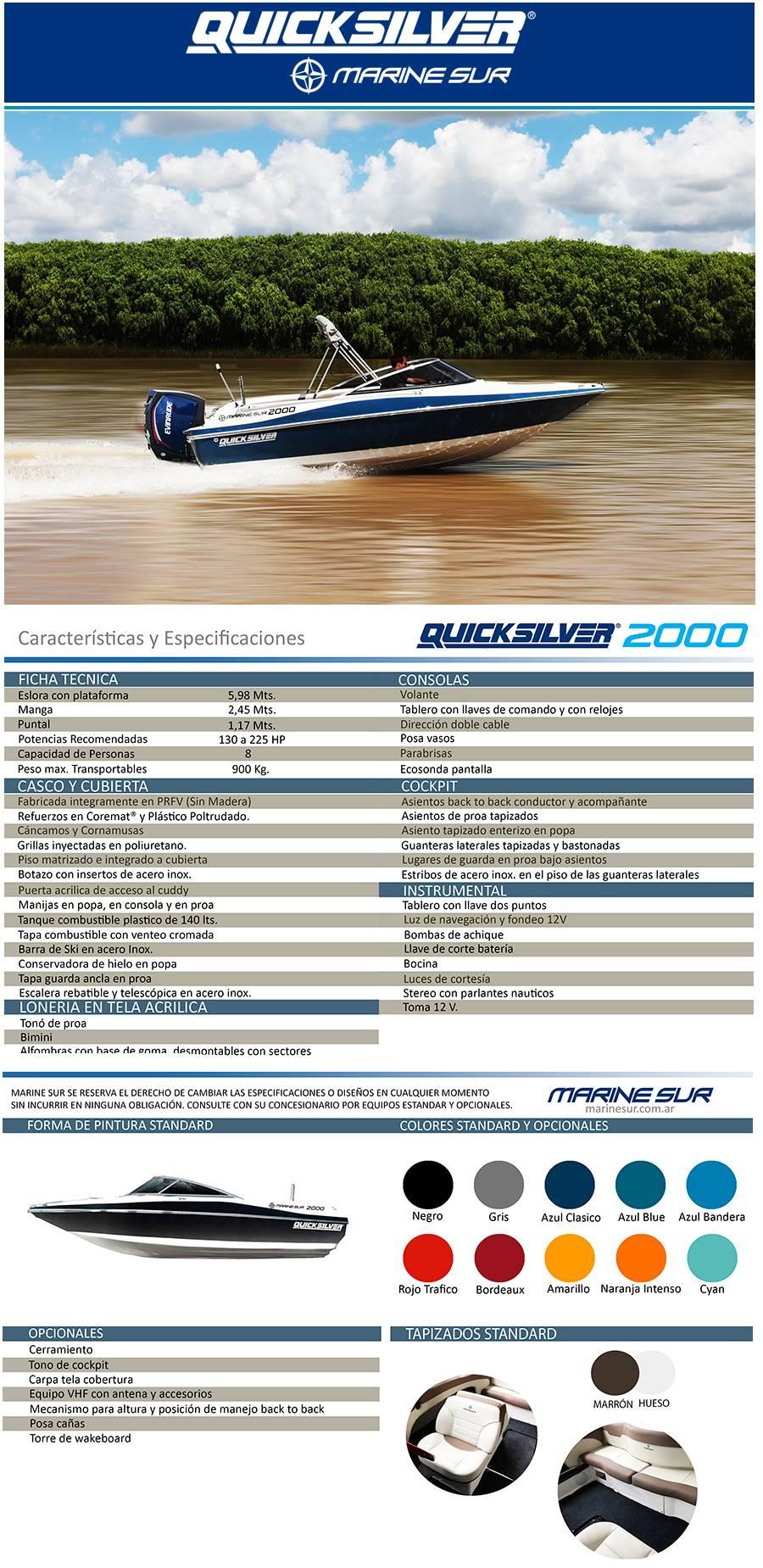 Quicksilver Marine Sur Mercado libre