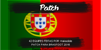 patch portugal brasfoot 2018