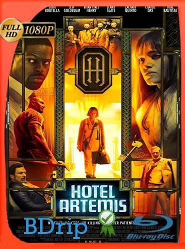 Hotel artemis 2018 [1080p BDrip] [Latino-Inglés]