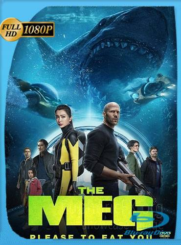 The meg 2018 [1080p HC HDrip v2] [Latino-Inglés]