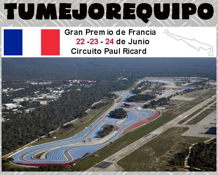 Gran Premio de Francia UHTXKCh