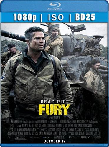 Fury 2014 [BD25] [Latino]