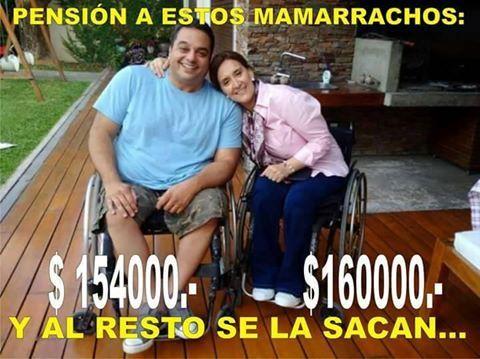Mentiras PRO: no restituyó las pensiones por discapacidad