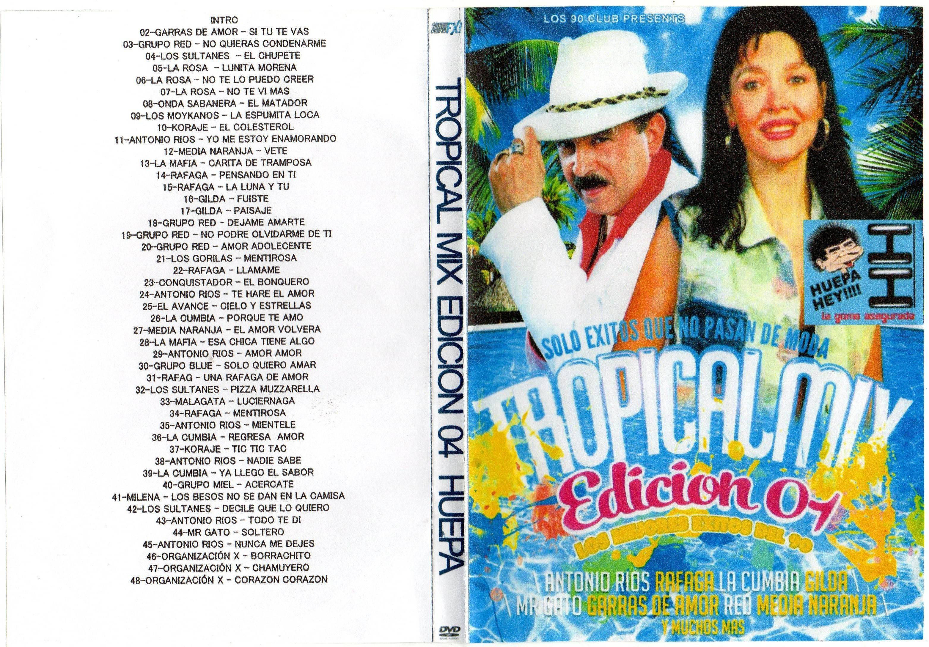 Tropi Mix de los 90 Video Cumbia Enganchada